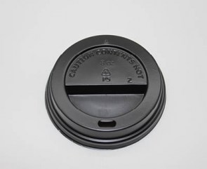 black sip throgh lid